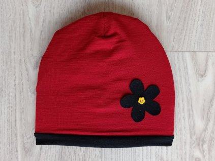 1červeno černá kvetina