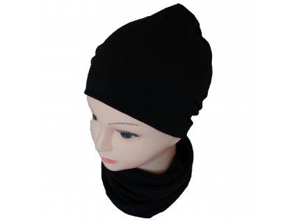 MERIWO Merino čepice classic černá