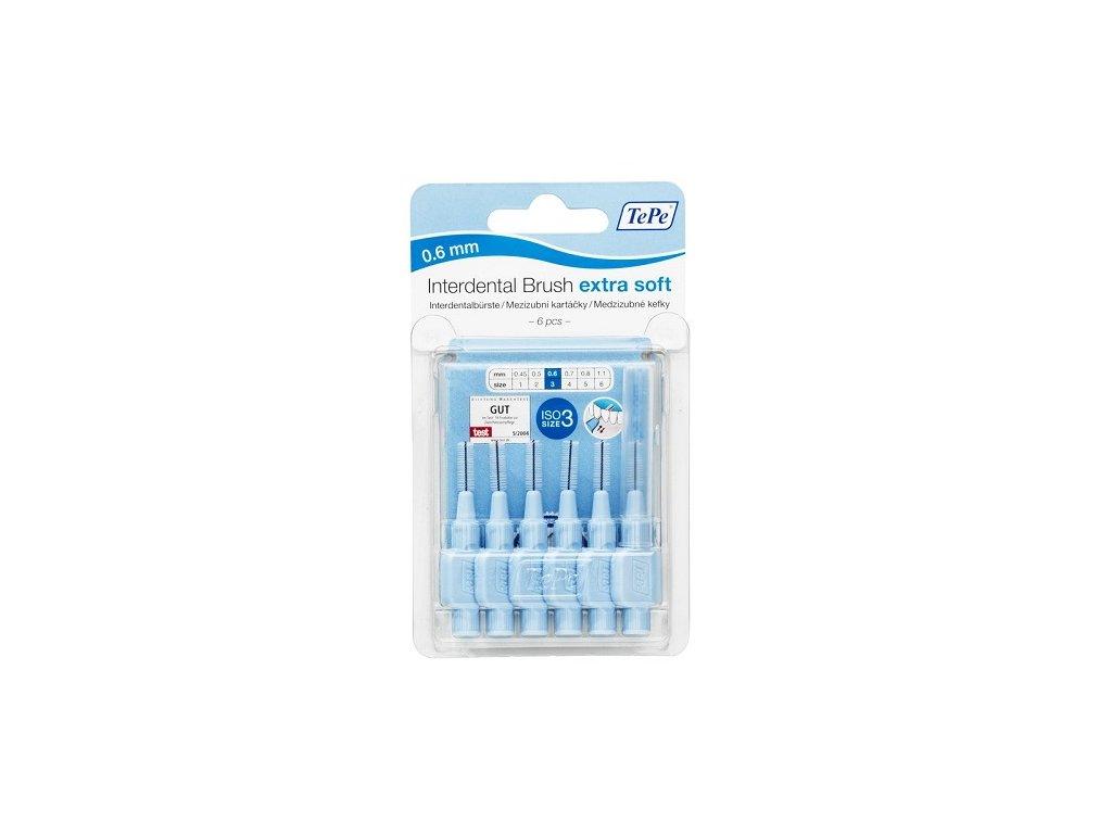 3315 tepe extra soft 0 6 mm svetle modre 6 ks