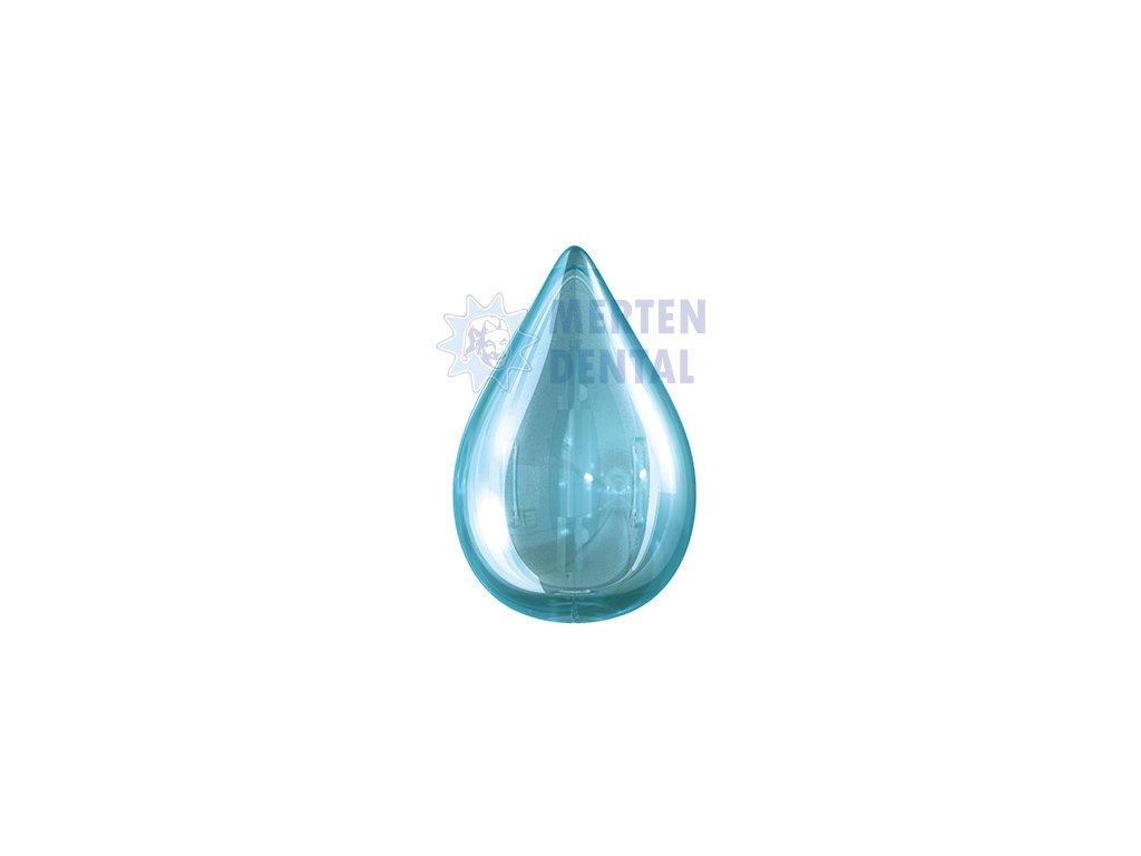 3372 flipper mira krytka na zubni kartacek ve tvaru slzy modra 1ks