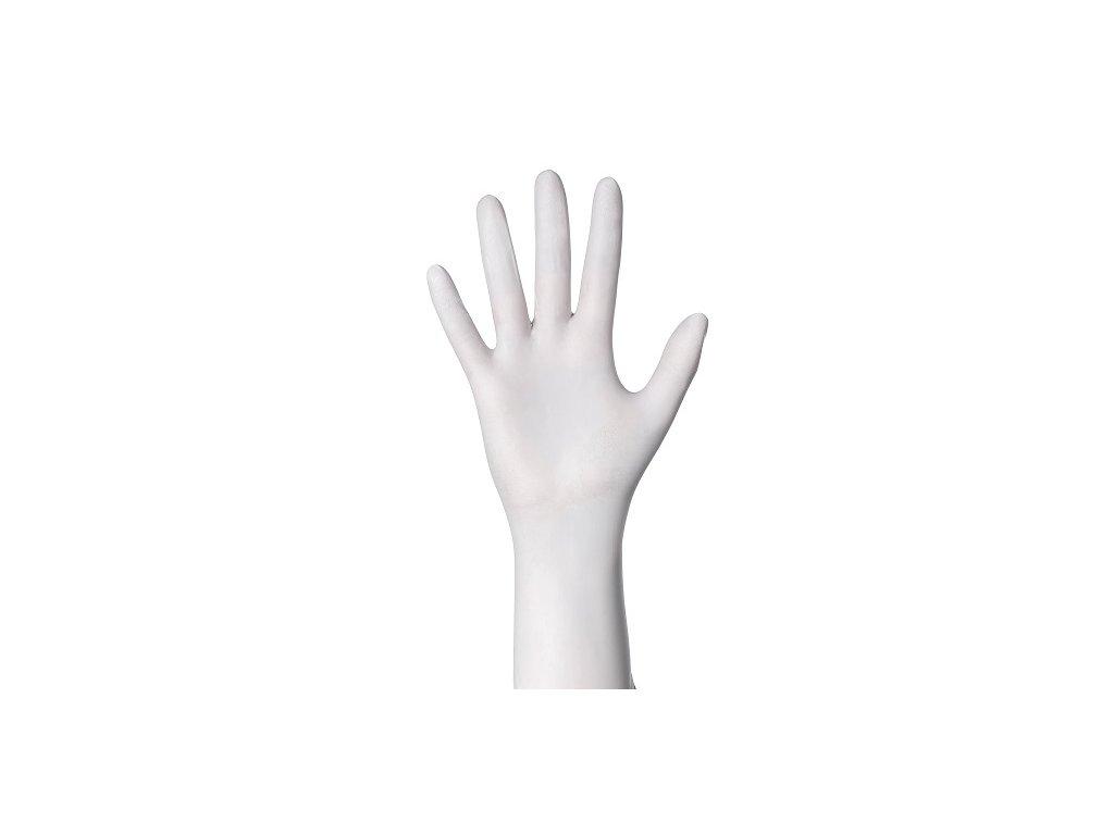 4464 ampri nitril rukavice bile xs nepudrovane 200ks