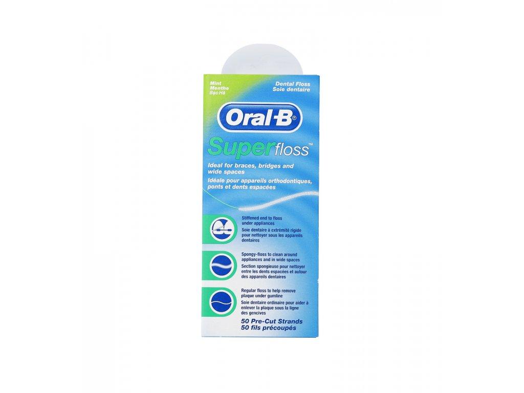 4614 1 oral b superfloss mint 50ks