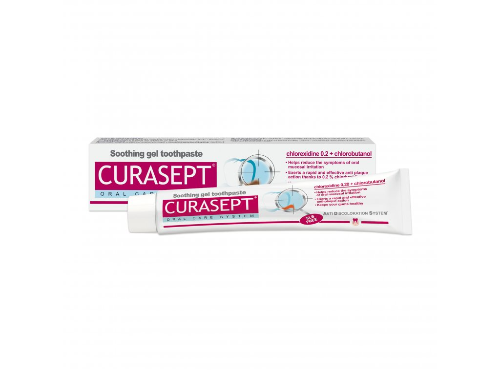 CS 02137 Curasept ADS SOOTHING TOOTHPASTE 720 EU