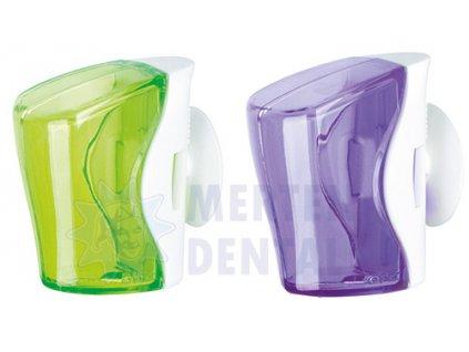 3333 flipper basic antibakterialni kryt zeleny fialovy 2ks