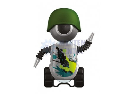 3387 flipper robot sedy krytka na zubni kartacek 1ks