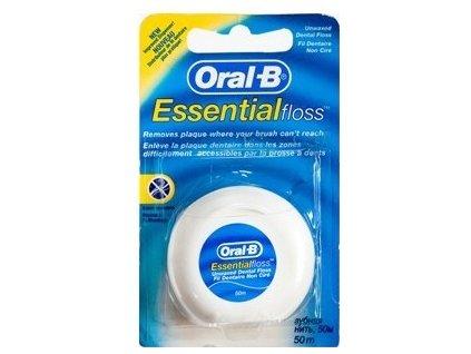 4509 oral b essential floss nevoskovana nit 50 m