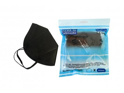 Respirator MertenDental f4 černý