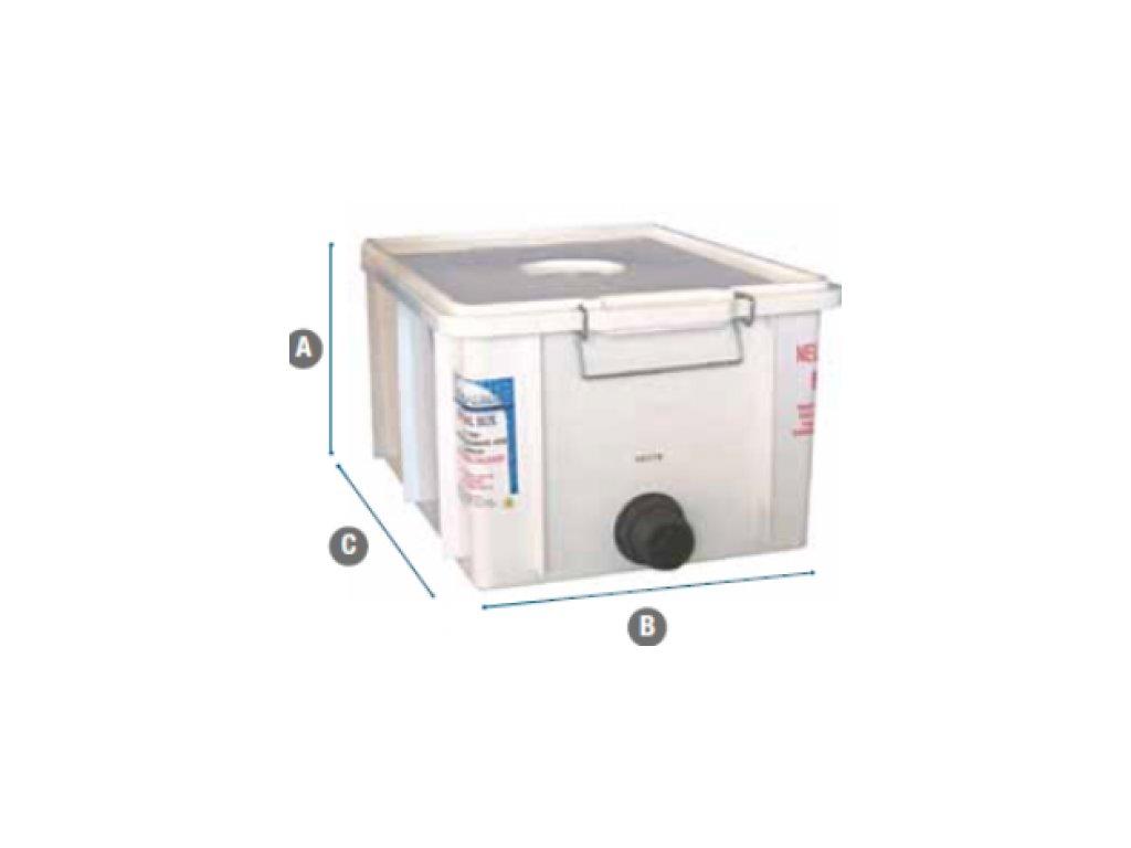 Neutralizačný box s pumpou