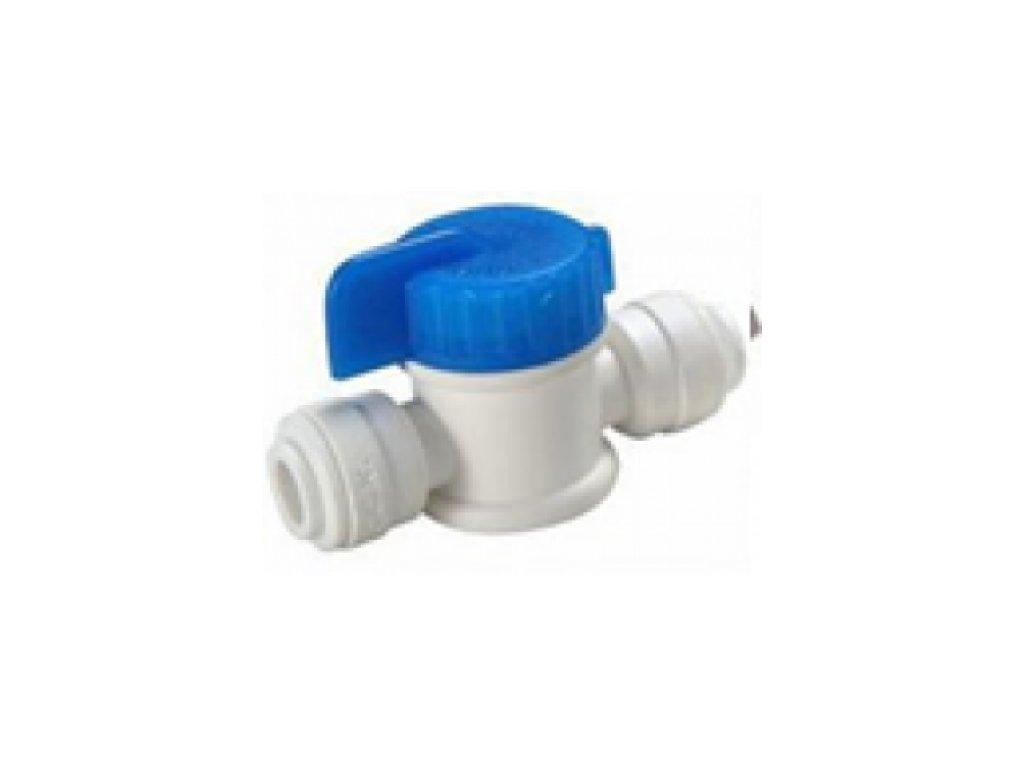 """Guľový ventil pre pripojenie na hadičku 1/4"""""""