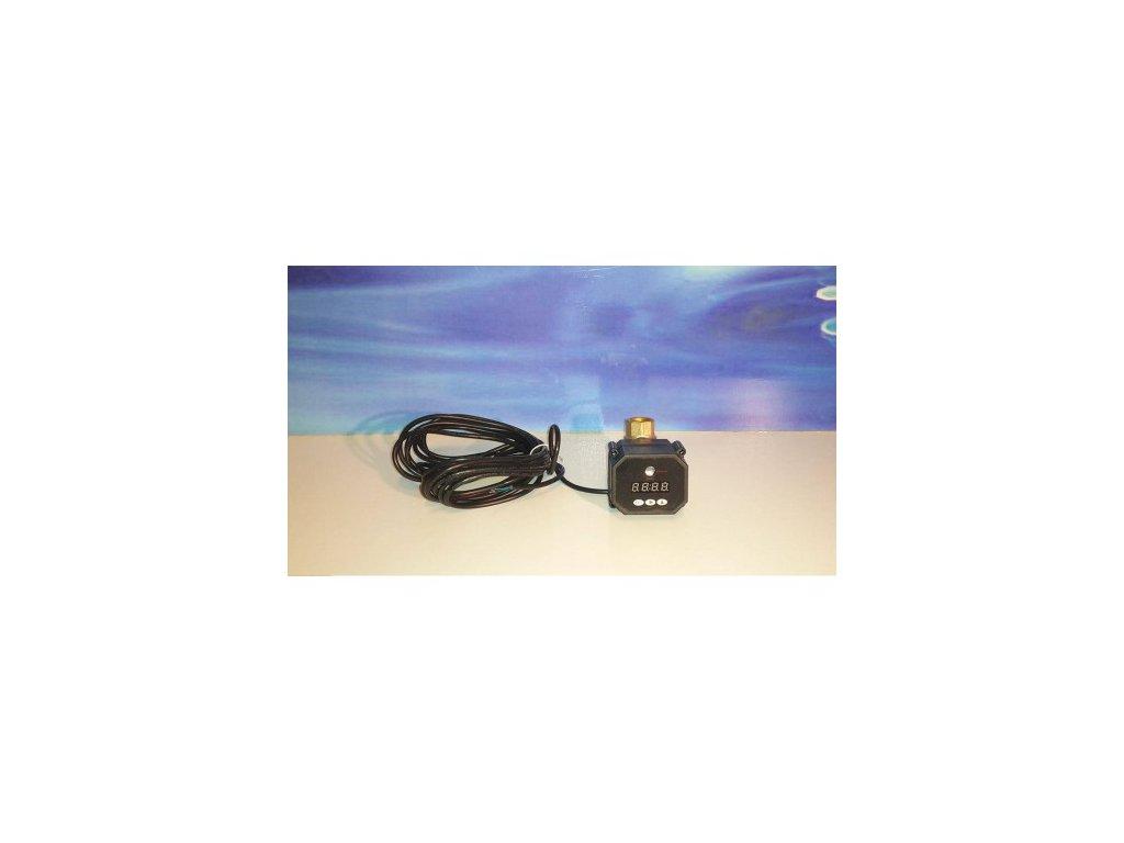 """Guľ. ventil s pohonom a časovačom 110-230V, G1/2"""""""