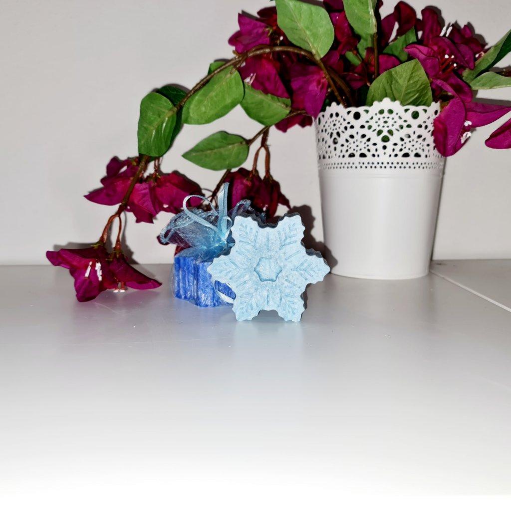Vonný vosk Hvězda velká modrá