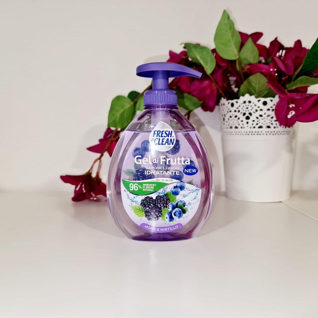 Tekuté mýdlo černé plody FRESH&CLEAN