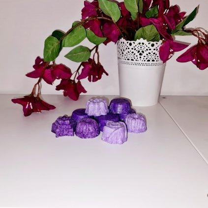 Vonný vosk fialový Smyslnost květů