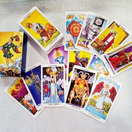 Tarotové karty KLASIC