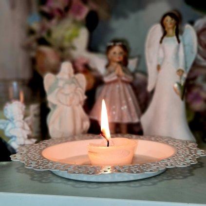 Malá rituální svíčka OCHRANA a BEZPEČÍ