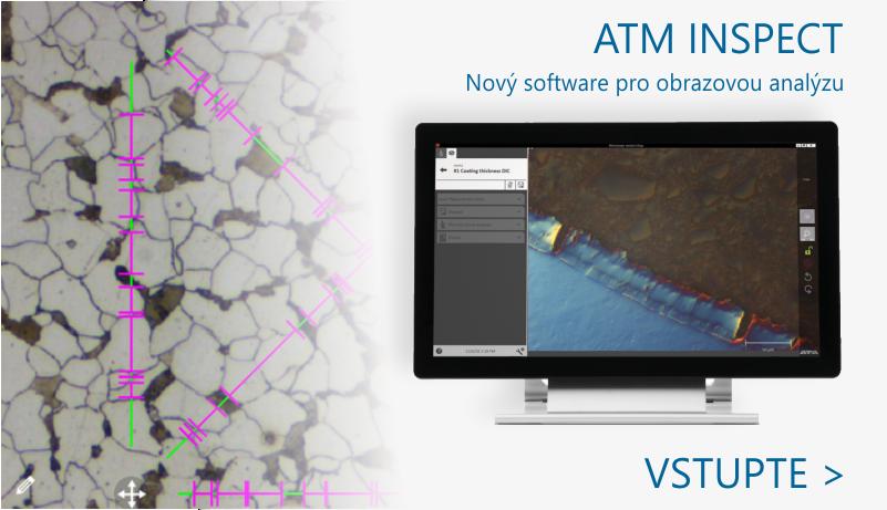 ATM INSPECT  - kompletní softwarové řešení pro obrazovou analýzu