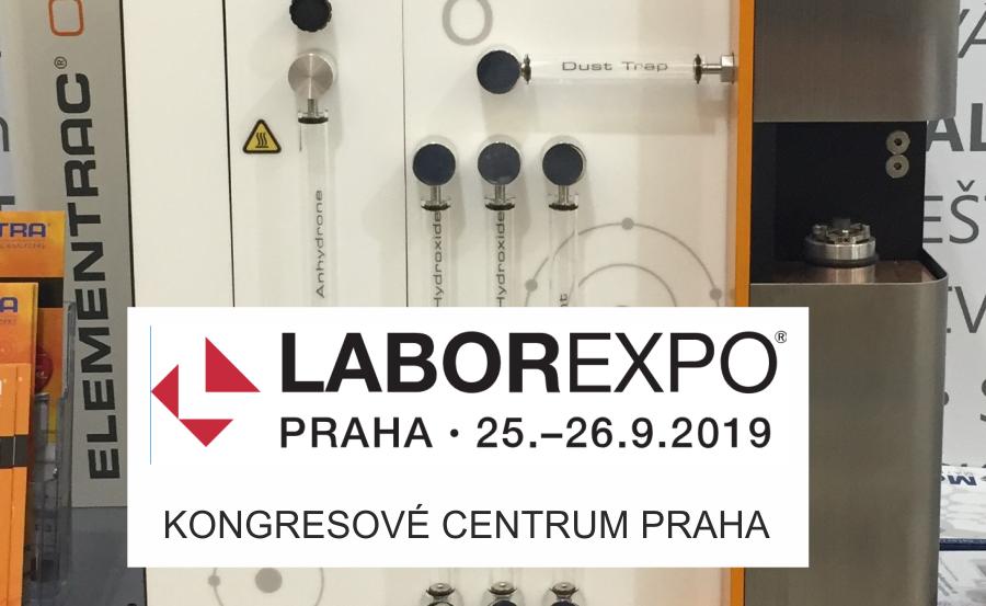 25 - 26. 9. 2019 LABOREXPO - IX. Veletrh analytické, měřící a laboratorní techniky