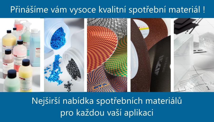 Přinášíme vám vysoce kvalitní spotřební materiál !
