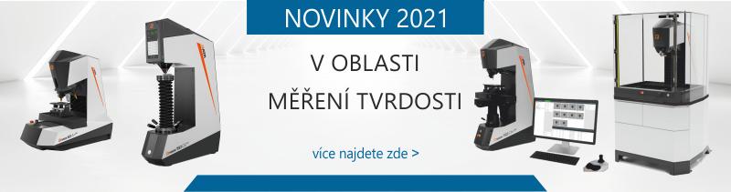 NOVINKY 2021 v oblasti měření tvrdosti
