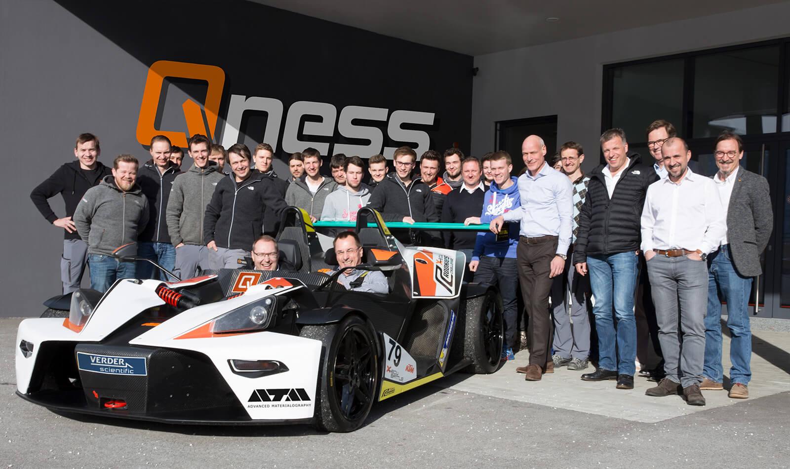 Od 1.4.2018  Metalco Testing zastupuje firmu QNESS  pro český a slovenský trh