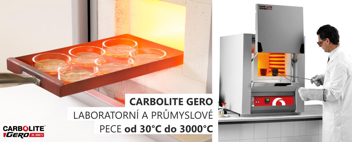 CARBOLITE GERO je předním výrobcem vysokoteplotních pecí od 30°C do 3000°C se zaměřením na technologii vakua a speciálních atmosfér