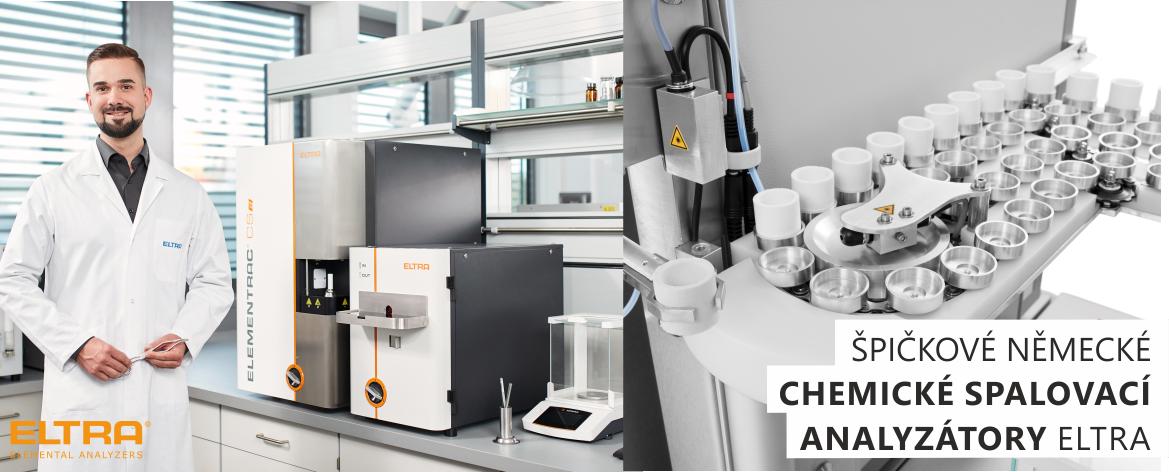 ELTRA je jedním z předních světových výrobců elementárních analyzátorů pro rychlé a přesné analýzy pevných materiálů. Ke stanovení obsahu uhlíku, vodíku, dusíku, kyslíku a síry pevných materiálů.