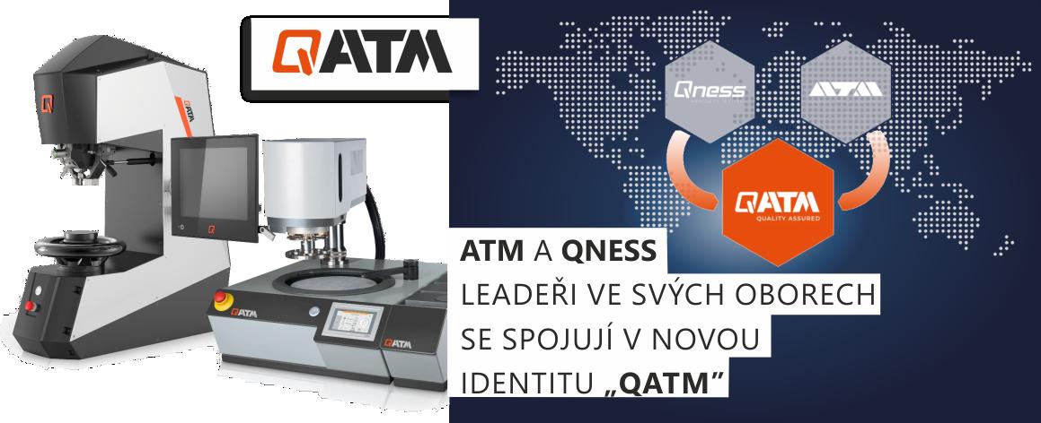 """Leadeři ve svých oborech ATM a QNESS se spojují v novou identitu """"QATM"""""""