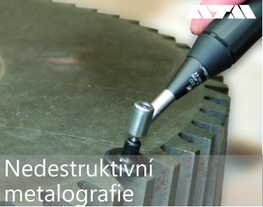 Nedestruktivní metalografie