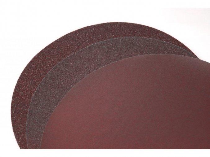 Korundový brusný papír Al2O3/velcro upínání, Ø 30mm FEPA 320