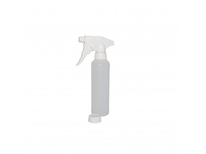 Plastová láhev s rozprašovačem, 250 ml