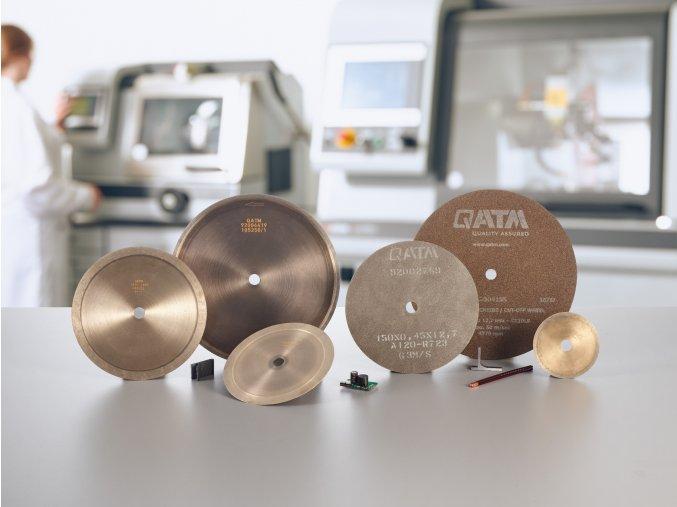 Diamantový precizní dělící kotouč D (pro tvrdé kovy)