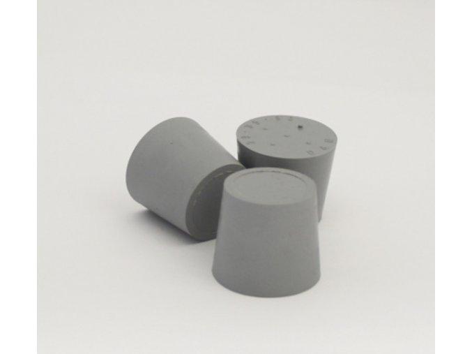 Gumová zátka 14x20x24mm