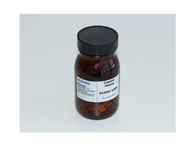 Měď, peletky, 25 g