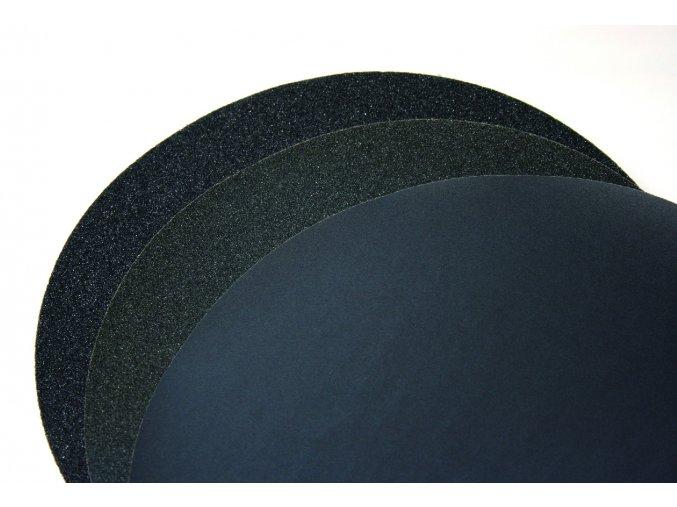 SiC brusný papír Ø 230mm FEPA 4000, samolepící
