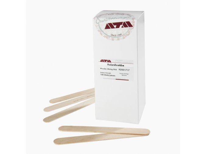 Špachtle pro míchání pryskyřic  - dřevěná