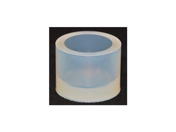 Silikonová kulatá zalévací formička. Rozměry: Ø 32 mm / H 25 mm.