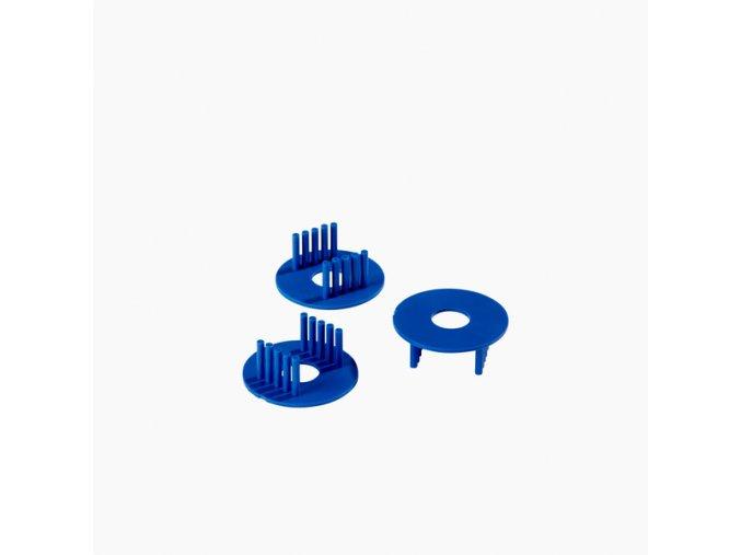 Plastové zalévací svorky OE 30 mm, drážka 1mm