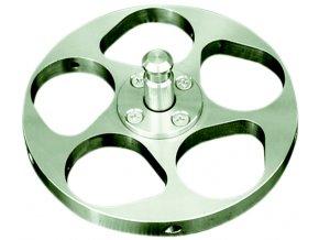 Držák vzorků pro centrální přítlak Ø 130 mm / 5x max. Ø 20-40 mm