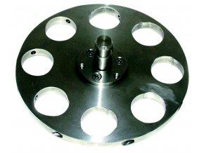 Držák vzorků pro centrální přítlak Ø 130 mm /3-bodová fixace
