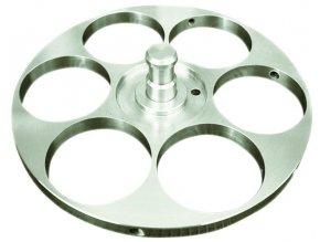 Držák vzorků pro individuální přítlak Ø 160 mm / 6x 50 mm