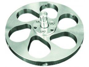 Držák vzorků pro centrální přítlak Ø 160 mm / 6x max. Ø 20-40 mm
