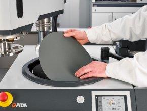 SiC brusný papír Ø 300mm různé zrnitosti FEPA pro broušení za mokra (zrnitost FEPA 4000 (≥ 5 bal = 5% sleva • ≥ 10 bal =10% sleva))