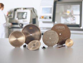 Diamantový precizní dělící kotouč D (pro tvrdé kovy) - Ø 76, 102, 127, 152 mm