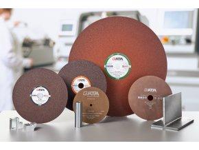 Korundový dělící kotouč Al2O3, typ C (Ø 235, 250, 300, 350, 400, 600) (průměr Ø 600, (≥ 5 bal = 5% sleva  • ≥ 10 bal =10% sleva))