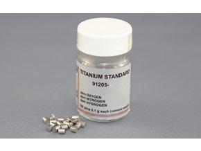 Kalibrační standard Titan válečky 0,1g/ks