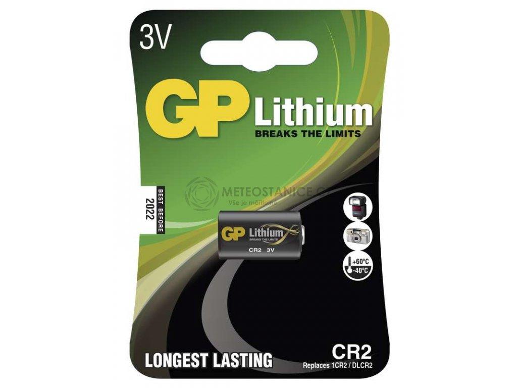 Foto lithiová baterie GP CR2, 1 ks