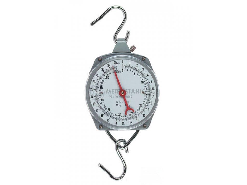 Levná závěsná váha - mechanický mincíř do 25 kg