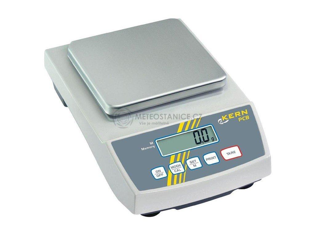 Přesná stolní digitální váha Kern PCB 2000-1, 2000 g / 0,1 g