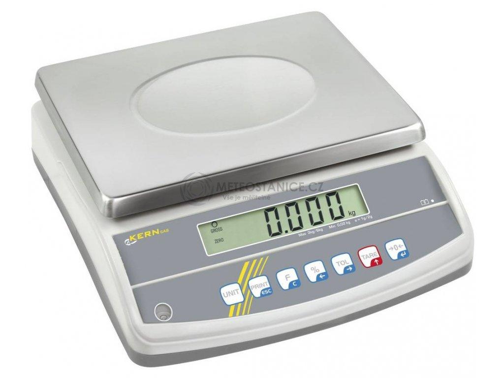 Přesná stolní váha Kern GAB 30K0.2N; max. váživost 30 kg, rozlišení 0.2 g