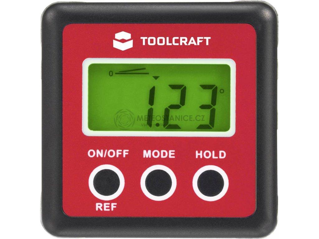 Digitální vodováha a úhloměr Toolcraft TO-4988565